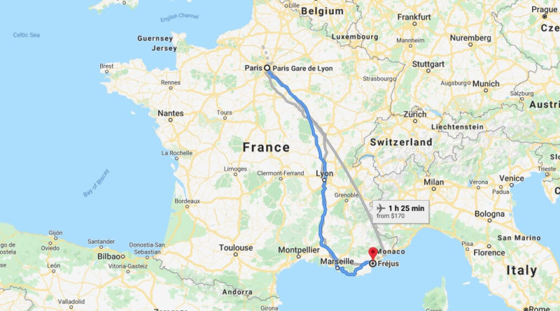 Where is Frejus Located? What Country is Frejus in? Frejus Map
