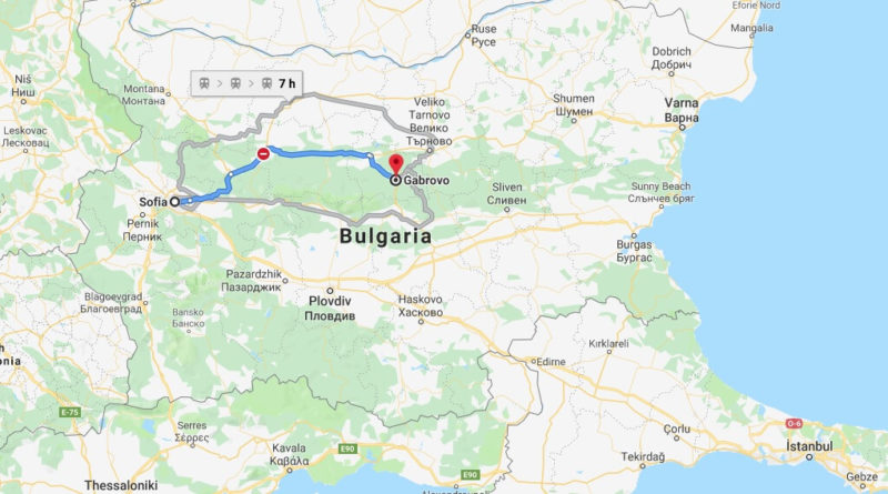 Where is Gabrovo Located? What Country is Gabrovo in? Gabrovo Map