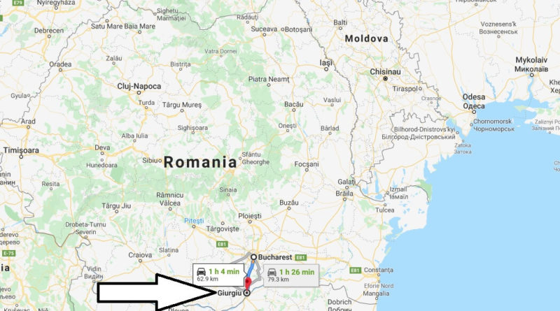 Where is Giurgiu Located? What Country is Giurgiu in? Giurgiu Map