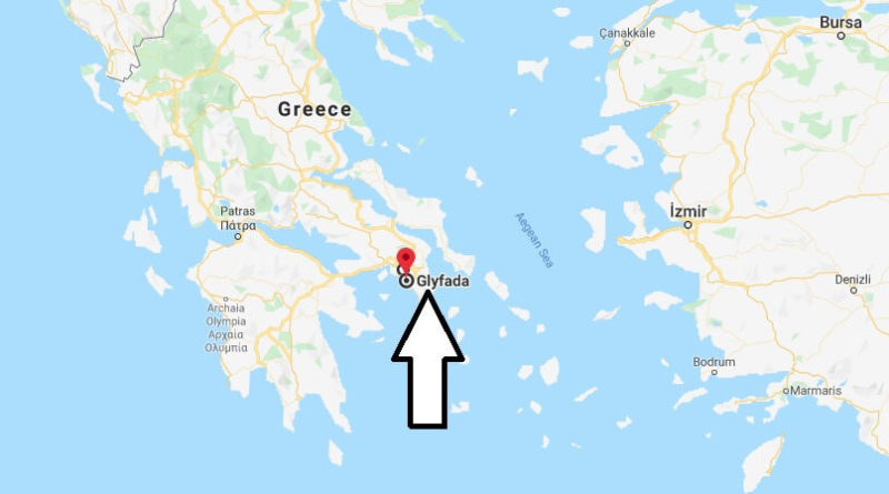 Where is Glyfada Located? What Country is Glyfada in? Glyfada Map