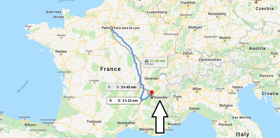 Where is Grenoble Located? What Country is Grenoble in? Grenoble Map