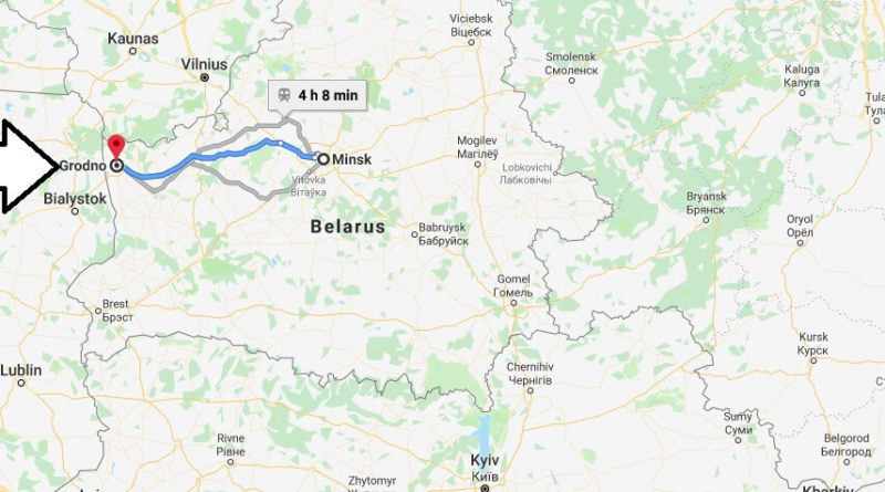 Where is Grodno Located? What Country is Grodno in? Grodno Map