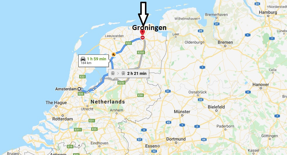 Where is Groningen Located? What Country is Groningen in? Groningen Map