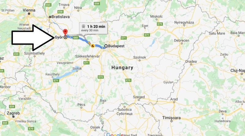 Where is Gyor Located? What Country is Gyor in? Gyor Map