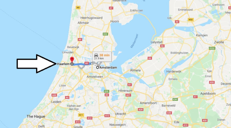 Where is Haarlem Located? What Country is Haarlem in? Haarlem Map