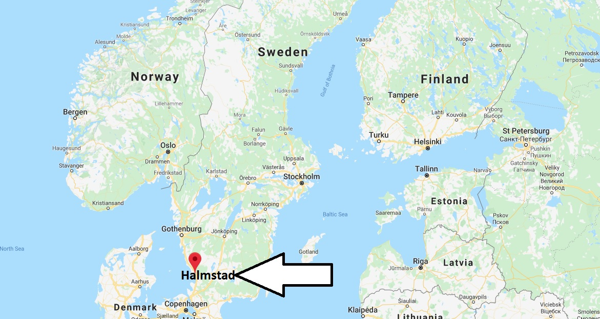 Where is Halmstad Located? What Country is Halmstad in? Halmstad Map