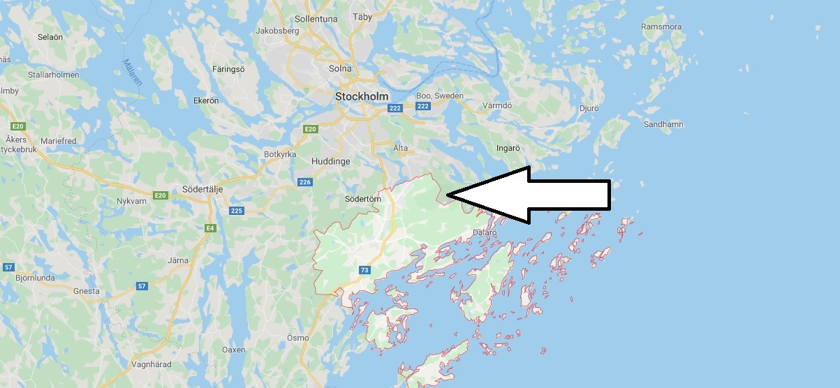 Where is Haninge Located - What Country is Haninge in-Haninge Map