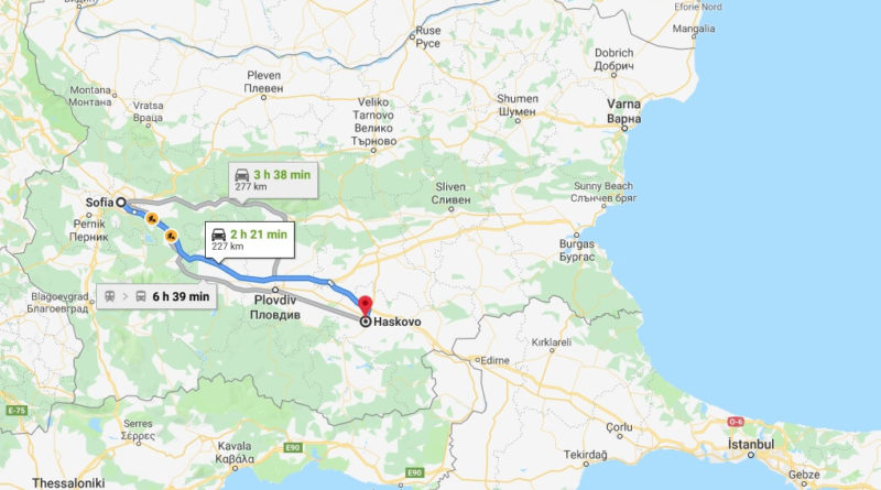 Where is Haskovo Located? What Country is Haskovo in? Haskovo Map
