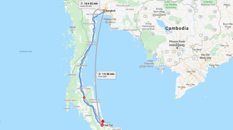 Where is Hat Yai Located? What Country is Hat Yai in? Hat Yai Map