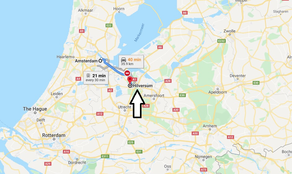 Where is Hilversum Located? What Country is Hilversum in? Hilversum Map