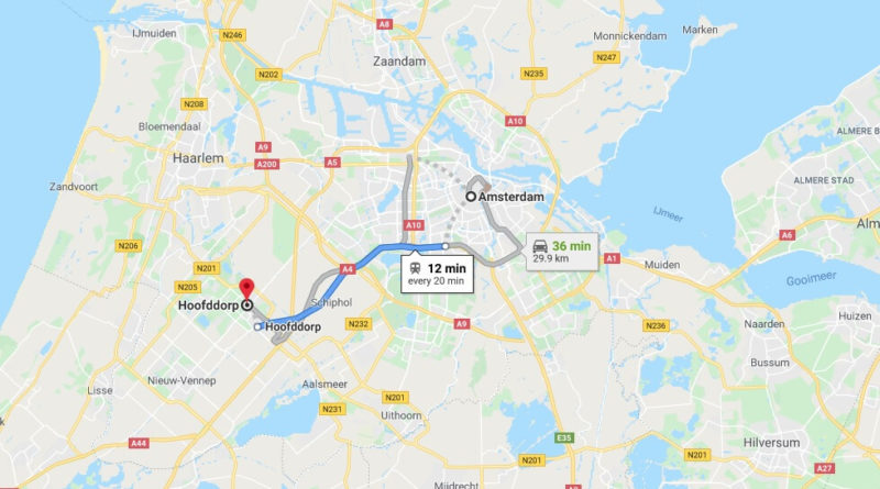 Where is Hoofddorp Located? What Country is Hoofddorp in? Hoofddorp Map