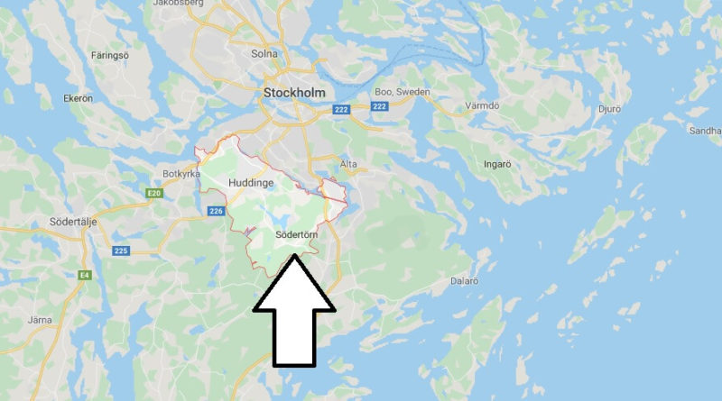Where is Huddinge Located? What Country is Huddinge in? Huddinge Map