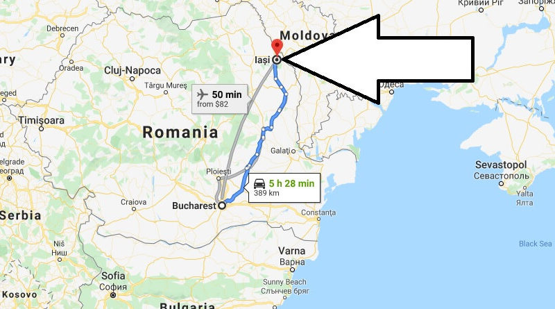 Where is Iași Located? What Country is Iași in? Iași Map