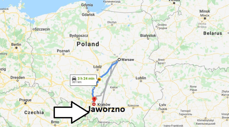 Where is Jaworzno Located? What Country is Jaworzno in? Jaworzno Map