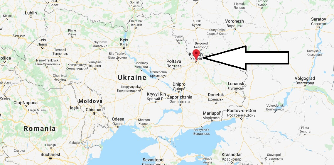 Where is Kharkiv Located? What Country is Kharkiv in? Kharkiv Map