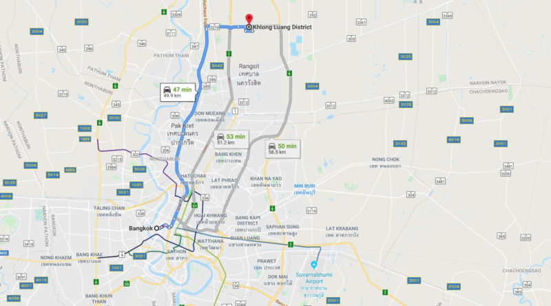 Where is Khlong Luang Located? What Country is Khlong Luang in? Khlong Luang Map