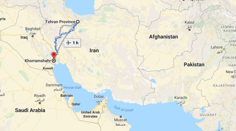 Where is Khorramshahr Located? What Country is Khorramshahr in? Khorramshahr Map