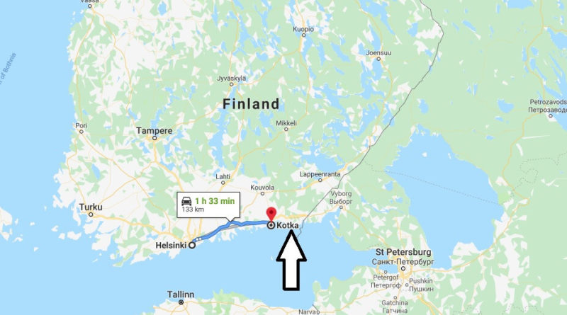 Where is Kotka Located? What Country is Kotka in? Kotka Map