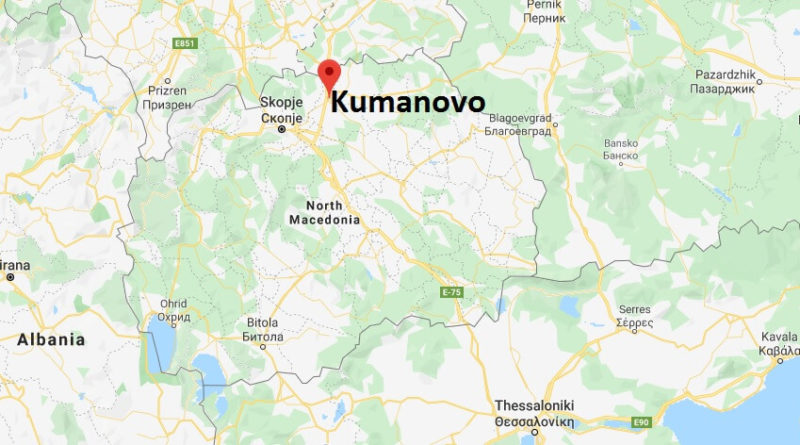 Where is Kumanovo Located? What Country is Kumanovo in? Kumanovo Map