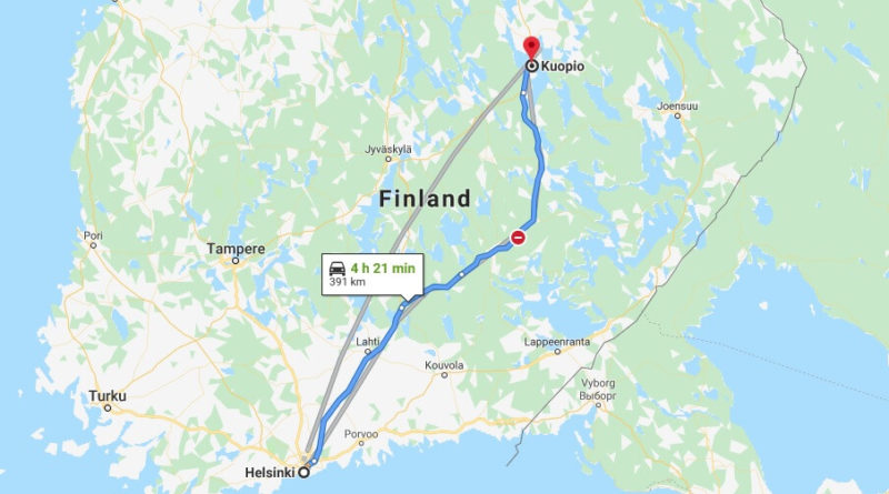 Where is Kuopio Located? What Country is Kuopio in? Kuopio Map