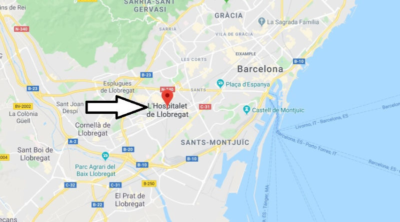 Where is L'Hospitalet de Llobregat Located? What Country is L'Hospitalet de Llobregat in? L'Hospitalet de Llobregat Map