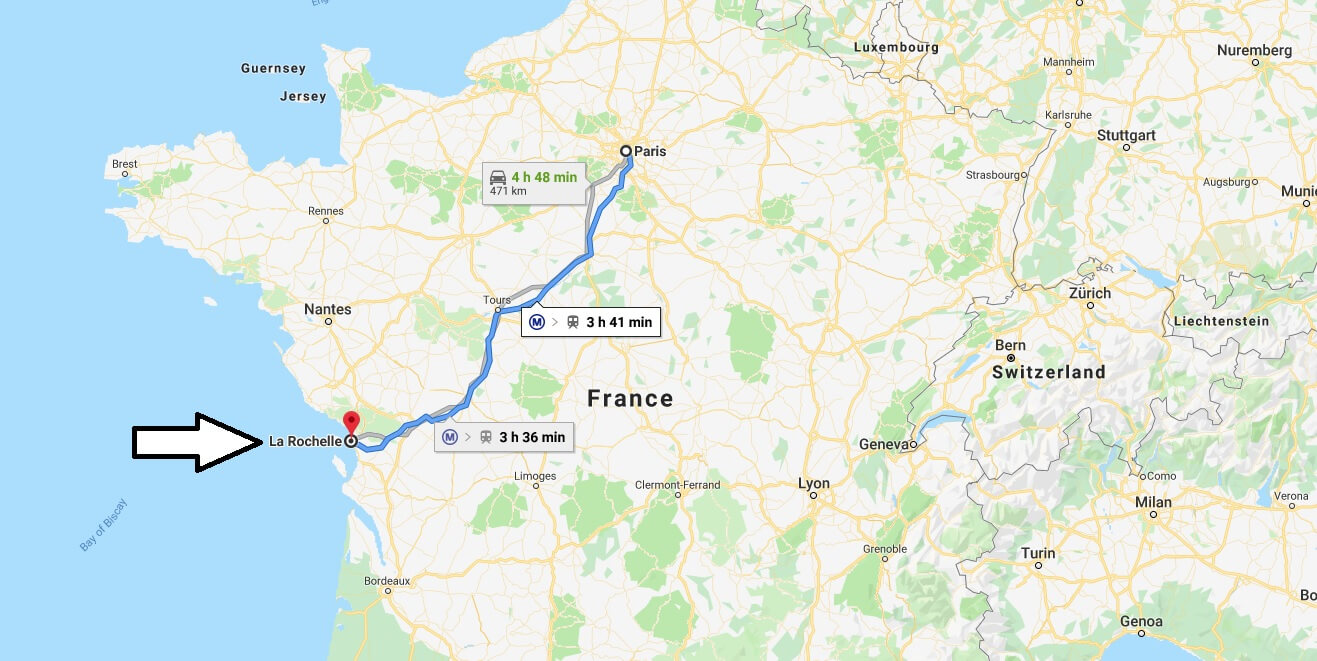 Where is La Rochelle Located? What Country is La Rochelle in? La Rochelle Map