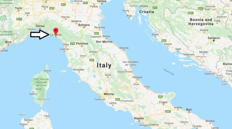 Where is La Spezia Located? What Country is La Spezia in? La Spezia Map