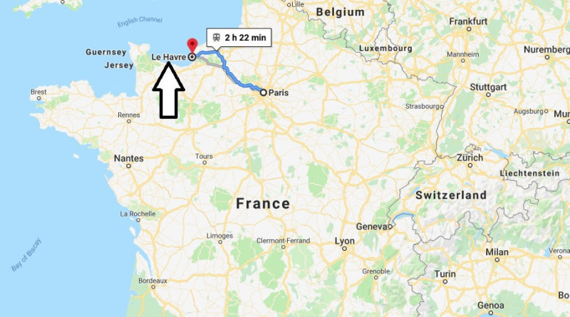 Where is Le Havre Located? What Country is Le Havre in? Le Havre Map