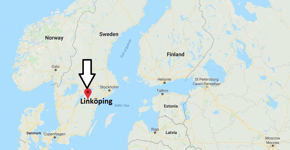 Where is Linköping Located? What Country is Linköping in? Linköping Map