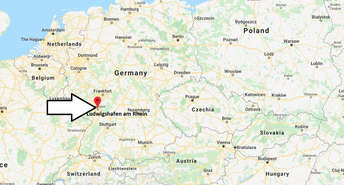Where is Ludwigshafen am Rhein Located? What Country is Ludwigshafen am Rhein in? Ludwigshafen am Rhein Map