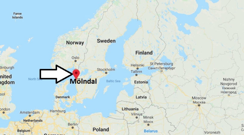 Where is Mölndal Located? What Country is Mölndal in? Mölndal Map