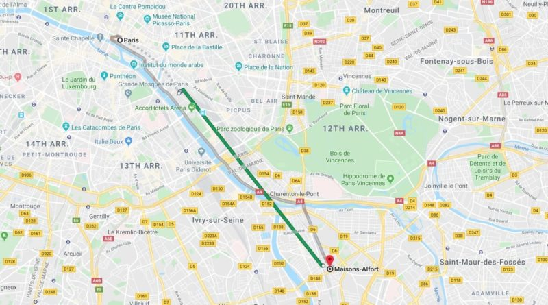 Where is Maisons-Alfort Located? What Country is Maisons-Alfort in? Maisons-Alfort Map