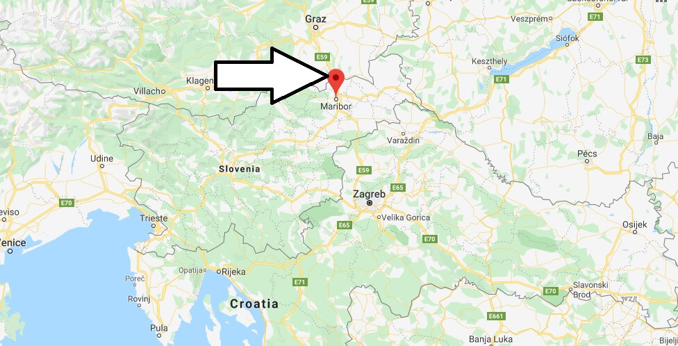 Where is Maribor Located? What Country is Maribor in? Maribor Map
