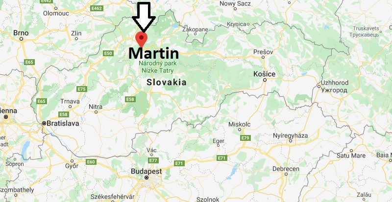 Where is Martin Located? What Country is Martin in? Martin Map