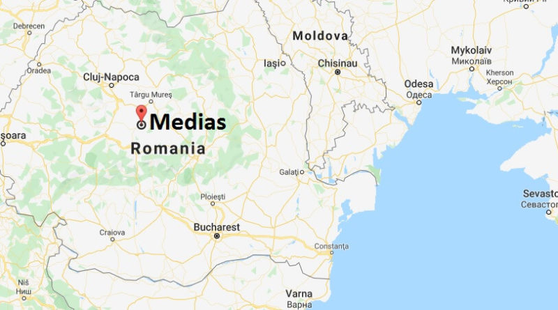 Where is Medias Located? What Country is Medias in? Medias Map