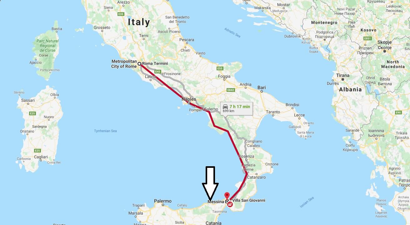 Where is Messina Located? What Country is Messina in? Messina Map