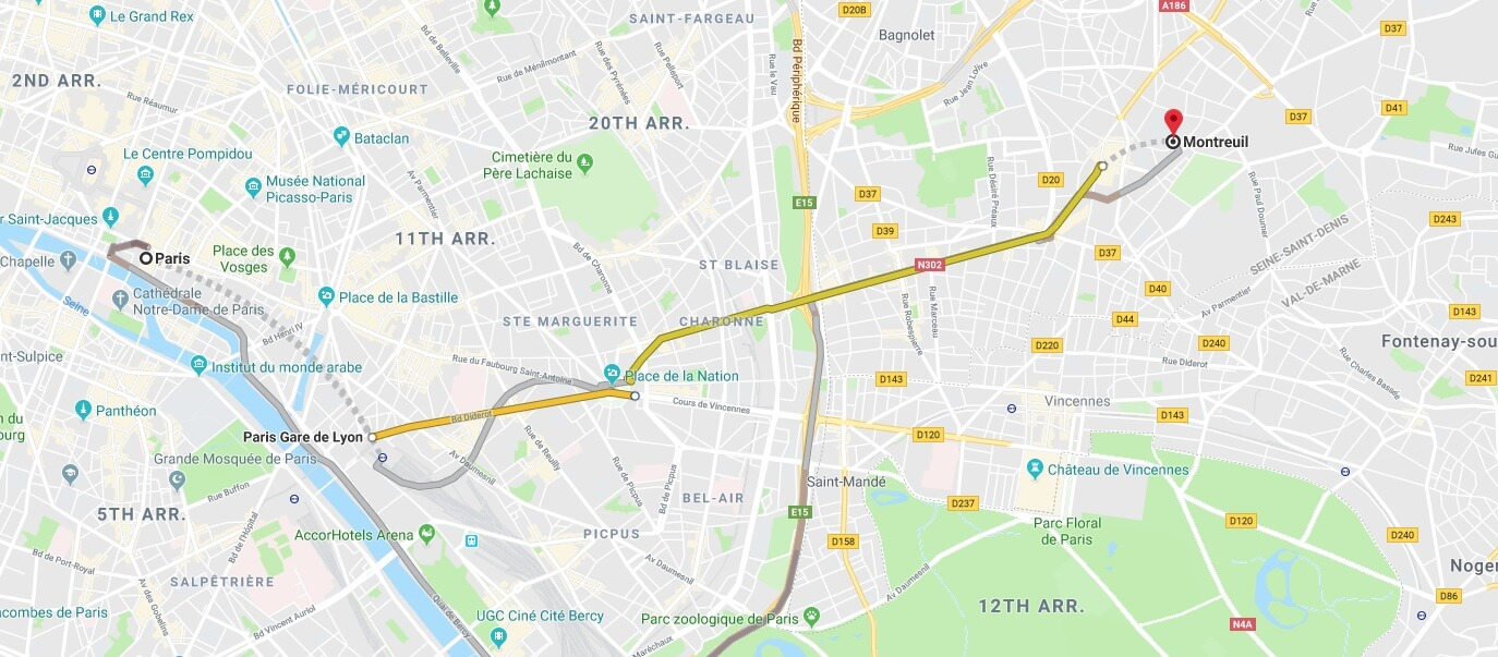 Where is Montreuil Located? What Country is Montreuil in? Montreuil Map