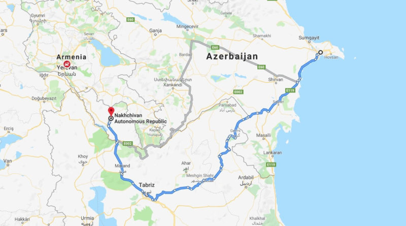 Where is Nakhchivan Located? What Country is Nakhchivan in? Nakhchivan Map
