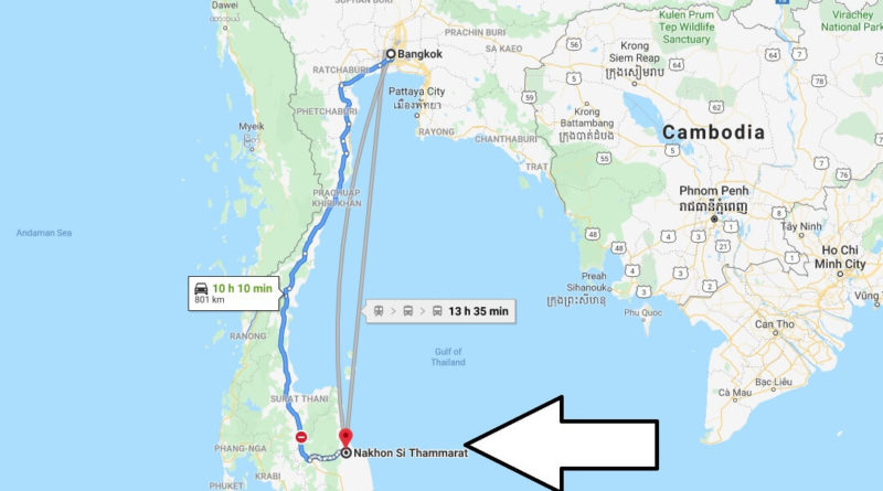 Where is Nakhon Si Thammarat Located? What Country is Nakhon Si Thammarat in? Nakhon Si Thammarat Map