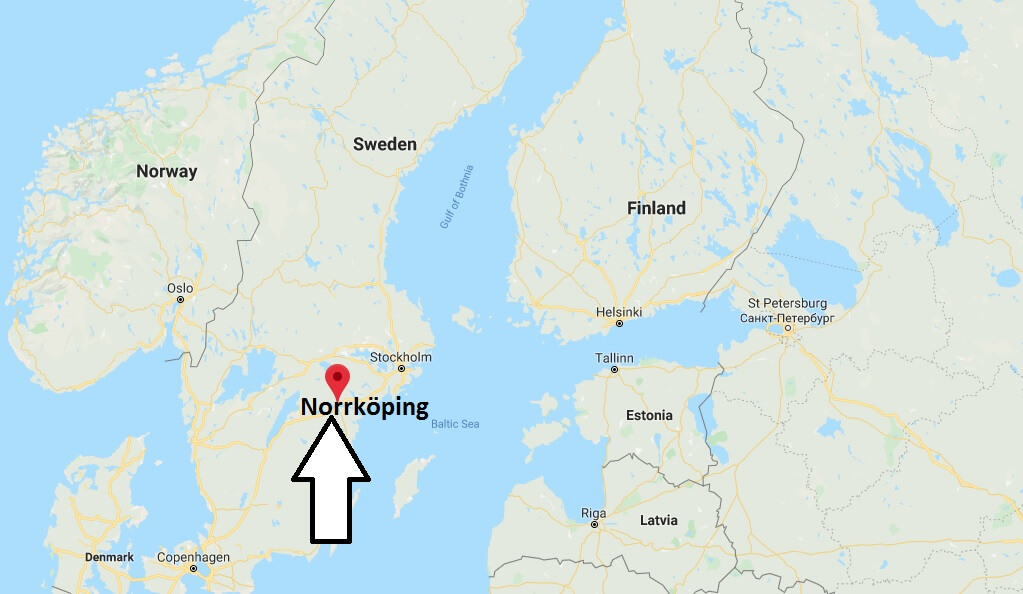 Where is Norrköping Located? What Country is Norrköping in? Norrköping Map