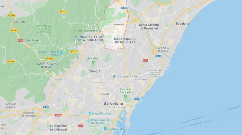 Where is Nou Barris Located? What Country is Nou Barris in? Nou Barris Map