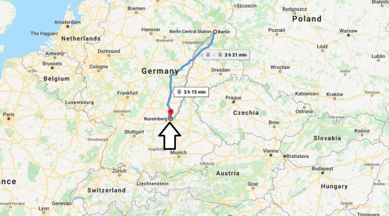 Where is Nuernberg Located? What Country is Nuernberg in? Nuernberg Map