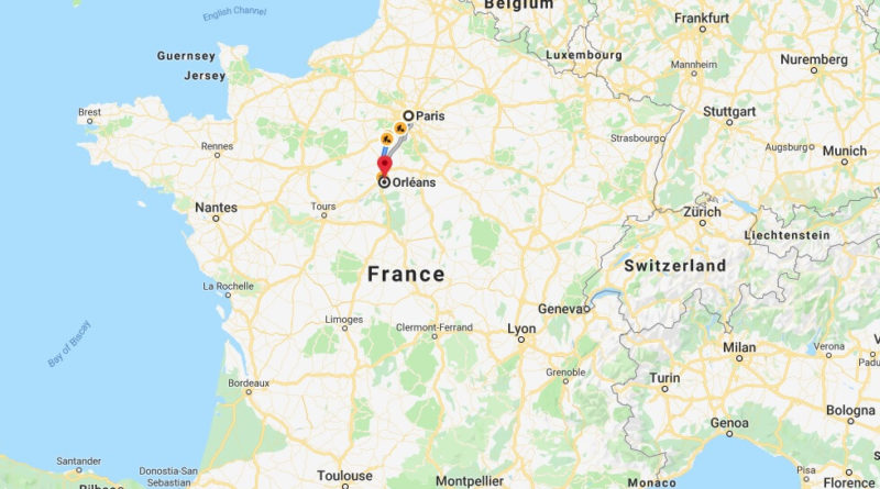 Where is Orleans (France) Located? What Country is Orleans in? Orleans Map