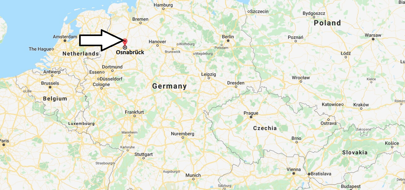 Where is Osnabrück Located? What Country is Osnabrück in? Osnabrück Map