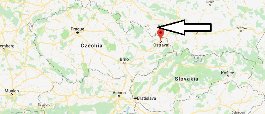 Where is Ostrava Located? What Country is Ostrava in? Ostrava Map