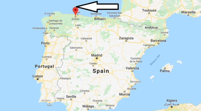 Where is Oviedo Located? What Country is Oviedo in? Oviedo Map