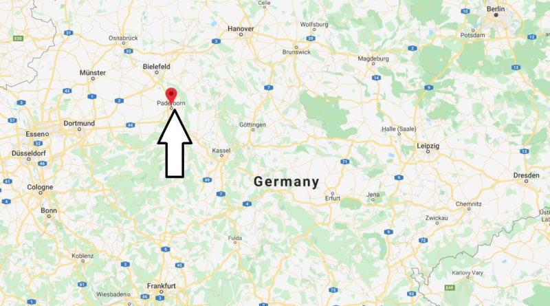 Where is Paderborn Located? What Country is Paderborn in? Paderborn Map