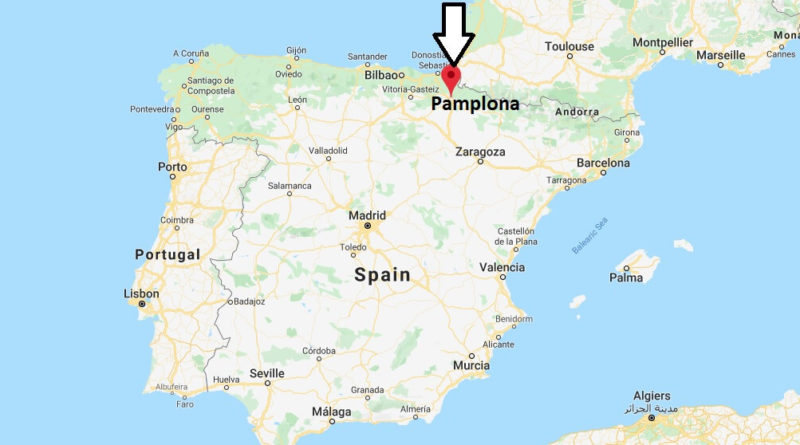 Where is Pamplona Located? What Country is Pamplona in? Pamplona Map