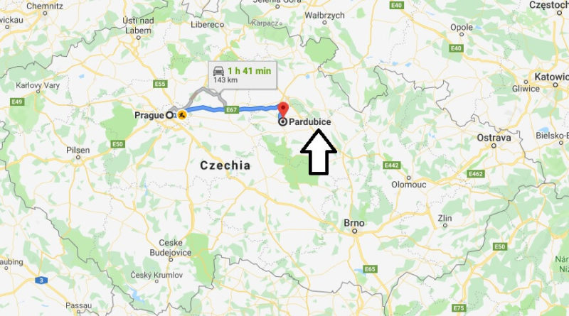 Where is Pardubice Located? What Country is Pardubice in? Pardubice Map