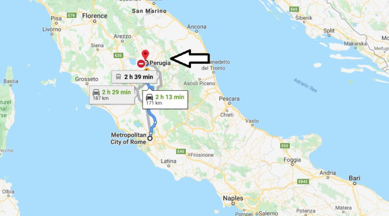 Where is Perugia Located? What Country is Perugia in? Perugia Map